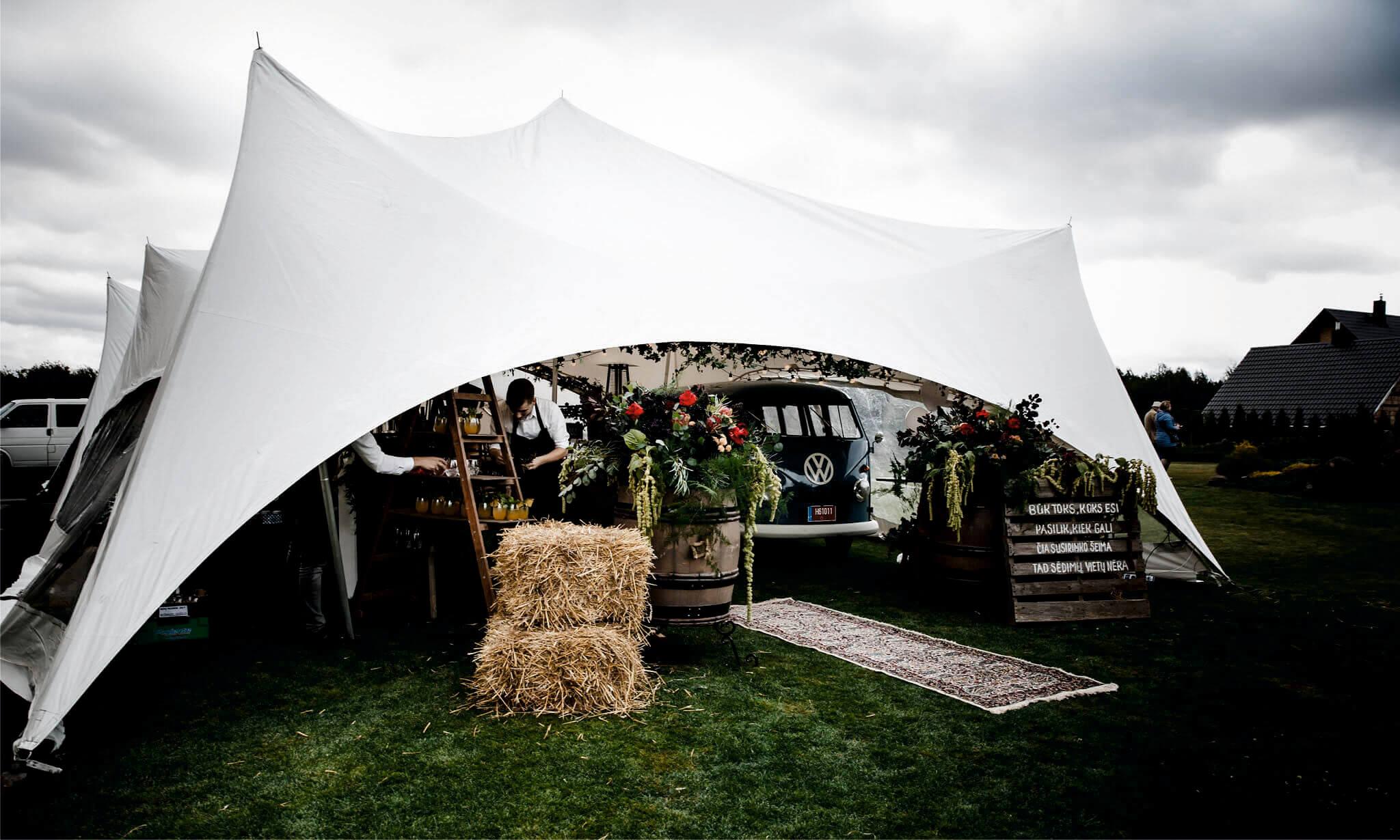 bro tents paviljonu-palapiniu nuoma